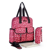 Multifunctional Large Baby Nappy Bag Backpack - Stylish & Durable Mommy Bags with Anti-Water Material
