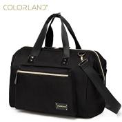 Maternity tote bags soft handle adjustable shoulder straps nappy bag outfit ,colour.LAND