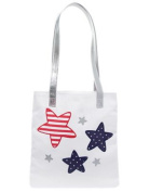 Gymboree Patriotic Glitter Star Tote Bag