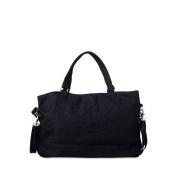 Cat & Dogma Linen Mom Carryall Bag, Black