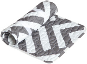 Oilo Zara Changing Pad Topper, Pewter