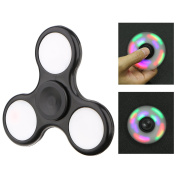 Fidget Spinner,CAMTOA Glow In Dark Fidget Spinner/Tri-Spinner Fidget Hand Toy/Hand Finger Spinner Focus Toy for Kids/Adults/Quitting Smoking/Stress Reducer/Relieves ADD/ADHD/Anxiety/Autism /Boredom