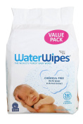 WaterWipes Sensitive Baby Wipes, Natural & Chemical-Free, 240 Sheets