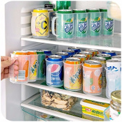 Grandey New Kitchen Accessories Coke Drink Can Space-saving Cans Finishing Frame 4 Storage Box Refrigerator Storage Box Gadget