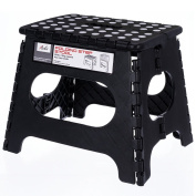 Acko 28cm Non Slip Folding Step Stool for Kids and Adults with Handle, Holds up to 110kg
