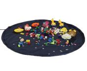 Children Kids 150cm Large Toy Storage Bag Organiser Kids Play Mat Outdoor Big Picnic Shoulder Bag Mat
