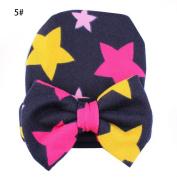 Tangc Newborn Baby Boys Girls Infant Toddler Bowknot Hospital Warm Cap Beanie Hat