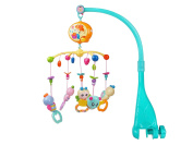 DanyBaby Forest Animals Musical Mobile.Baby Musical Crib Mobile With 40 Dulcet Songs-Blue