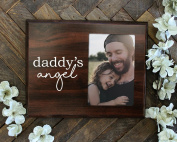 Daddys Angel Picture Frame for Baby Girl