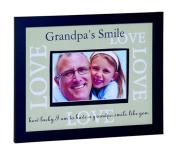 Grand Parent Co Grandpa's Smiles Photo Frame