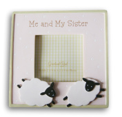 Magnetic Mini Photo Frame for 2.25 x 2.25 Photo - Me and My Sister