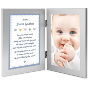 """Birthday or Baptism Gift from Godparents """"To Our Sweet Godson"""" Add Photo"""