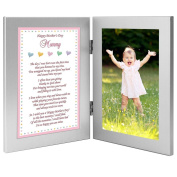 Baby Girl Frame for Mommy on Mother's Day - Sweet Words for Mom from Daughter - Add Photo