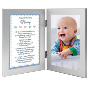 Baby Boy Frame for Mommy on Mother's Day - Sweet Words for Mom from Son - Add Photo