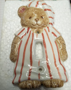 Once Upon A Time - Teddy Bear Light Switch Plate by Elizabeth Miles - BSX402