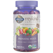 Garden of Life Prenatal Gummy Vitamin - mykind Organics Gummy Multivitamin for Women, 120 Count