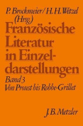 Franzosische Literatur in Einzeldarstellungen, Band 3 [GER]