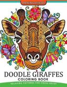Doodle Giraffes Coloring Book