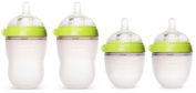 Comotomo 150ml and 240ml Baby Bottles, 4 Pack
