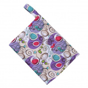 . AMA(TM) Reusable Washable Wet Bag for Menstrual Pads Mama Cloth Sanitary Towel Pads