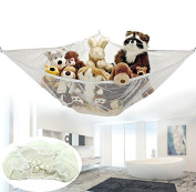 iMeshbean Jumbo Toy Hammock Net Organise Stuffed Animals Easy to Instal, Fits All Décor USA