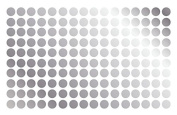 Polka Dot Wall Decal Nursery Kids Room Peel and Stick Removable Sticker Circle Pattern Decor #1326 (3.8cm
