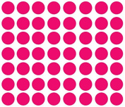 Polka Dot Wall Decal Nursery Kids Room Peel and Stick Removable Sticker Circle Pattern Decor #1326 (7.6cm