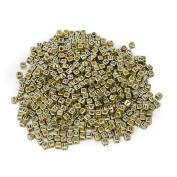 ESUMIC Mixed 500PCS Acrylic Plastic Letter Beads Spacer Cube Alphabet Beads for DIY Bracelets Necklaces