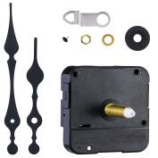 Mudder Long Spindle Clock Mechanism Movement, 3/ 13cm Maximum Dial Thickness, 1-1/ 25cm Total Shaft Length