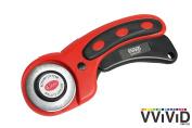 VViViD 45mm Locking Handle Rotary Cutter Craft Blade Tool