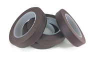 Floral Tape Brown 4 Rolls 30 Yards Foral Dark Glue Cohesive 12 mm Pair Artificial Flower Stem Tool