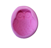 Fantastic Job Multi-use Owl Shape Handmade Craft Art Silicone Soap Moulds