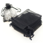 """AKStore 100PCS 4x6"""" (10x15cm) Drawstring Organza Jewellery Favour Pouches Wedding Party Festival Gift Bags Candy Bags"""