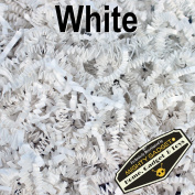 Mighty Gadget (R) 0.5kg White Crinkle Cut Paper Shred Filler for Gift Wrapping & Basket Filling