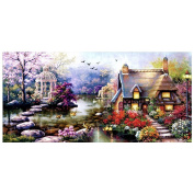 Labellevie Counted Cross Stitch DIY 68cm x 38cm