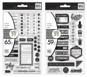 The Happy Planner Clear Stamps - Planner To Do and Planner Everyday Stamp Sets - 124 Stamps