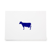 Cow Animal Beef Dairy Farm Style 8908, Rubber Stamp Shape great for Scrapbooking, Crafts, Card Making, Ink Stamping Crafts