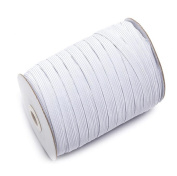 Braided Elastic 144 Yards - White