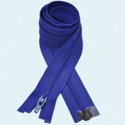 60cm Zipper YKK #3 Thin Nylon-coil Separating ~ Formal Wear ~ 918 Royal Blue