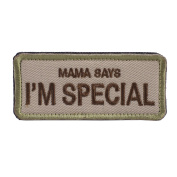 "OneTigris Original Patch Tactical Morale Military Patch ""Mama Says I'm Special"""