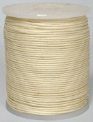 Maine Thread - Blue Bird 1.5mm Cream Polished Braided Cotton Cord. 100 metres per spool. Includes 1 spool.