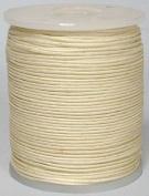 Maine Thread - Blue Bird 1.5mm Cream Polished Braided Cotton Cord. 100 metres per spool. Includes 1 spool.