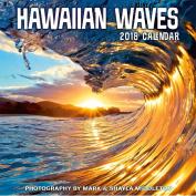 Hawaii 2018 Deluxe Wall Calendar - Hawaiian Waves by Mark & Shayla Middleton