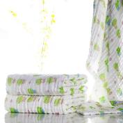 Lucear Muslin Baby Bath Towels Print