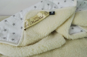 2 IN 1 ! WOOLAMRKED MERINO WOOL BLANKET , WOOL DUVET 100% NATURAL, ALL SIZES. PERFECT FOR GIFT