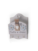 Hanging Hooks 16X10X 22.5 cm Kittens with postmen