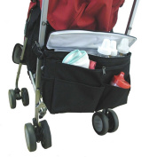 Millya Buggy Stroller Organiser Storage Bag with Pram Hooks Cooler Bag