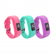 12 Colours Garmin Vivofit JR Bands With Secure Watch Clasp , BeneStellar Silicone Replacement Bands for Garmin Vivofit JR
