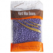 iMeshbean Lavender Smell No Strip Depilatory Hot Film Hard Wax Pellet Bead Waxing for Bikini Hair Removal Beans 300G / 300ml USA