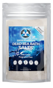 Therapeutic Dead Sea Bath Salt, Best 100% Pure and All Natural Fine Grain Product - Soothing help for Psoriasis, Eczema and Acne, 0.9kg bulk bag